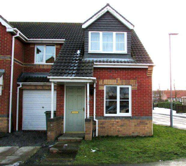 3 Bedrooms Semi Detached House for sale in REGENT COURT, SOUTH HETTON, SEAHAM DISTRICT