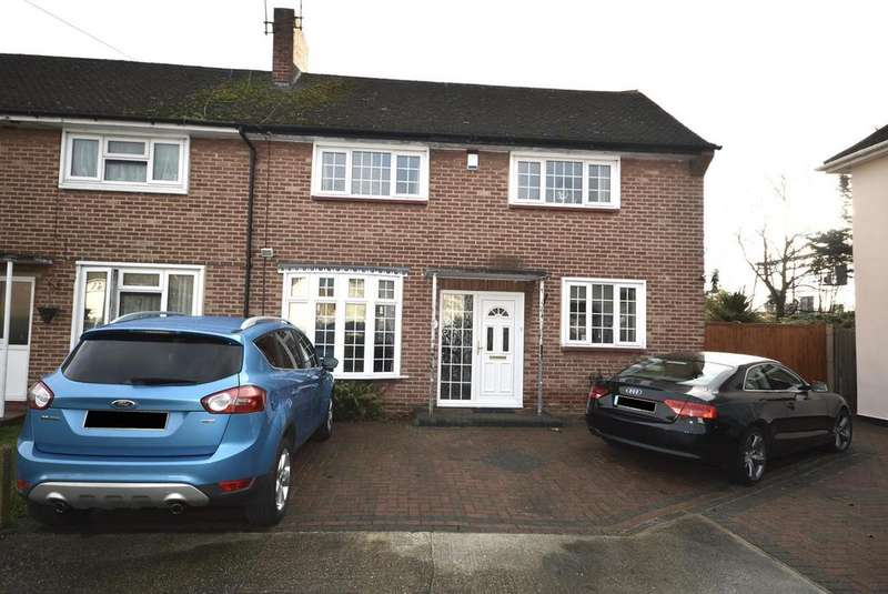 3 Bedrooms End Of Terrace House for sale in Ainsley Avenue, Romford, Essex RM7