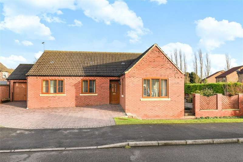 3 Bedrooms Detached Bungalow for sale in Millstream Road, Heighington, LN4