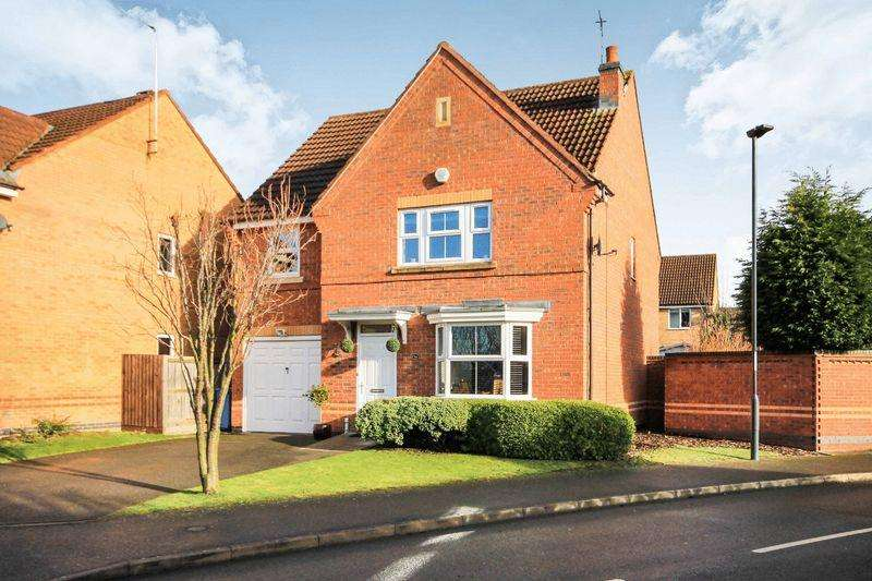 4 Bedrooms Detached House for sale in CASTLELAND WAY, CHELLASTON