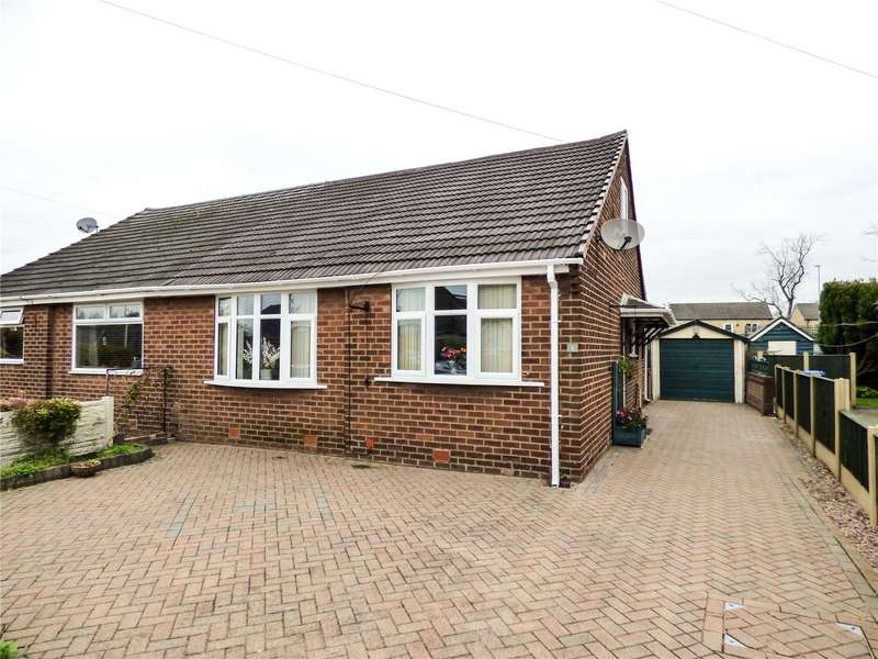 2 Bedrooms Semi Detached Bungalow for sale in Cumberland Avenue, Dukinfield, Greater Manchester, SK16