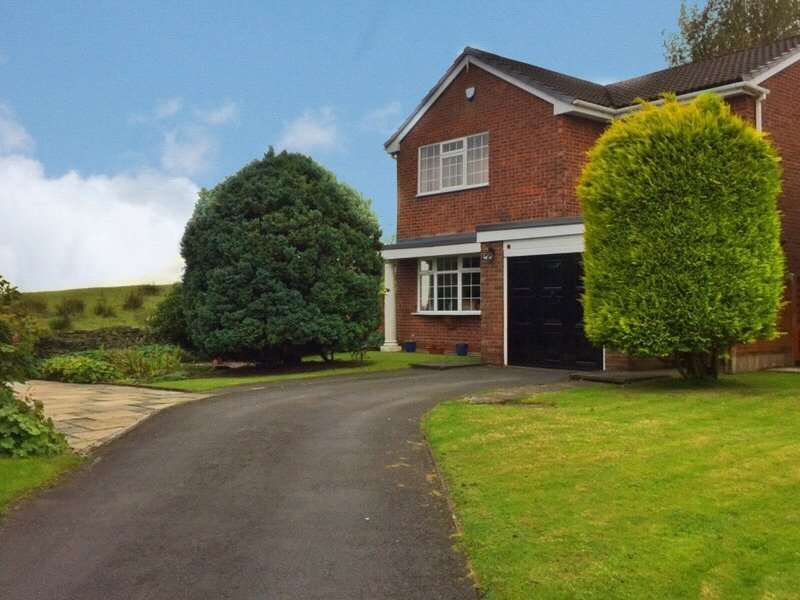 4 Bedrooms Detached House for sale in Riviera Court, Norden, Rochdale, OL12