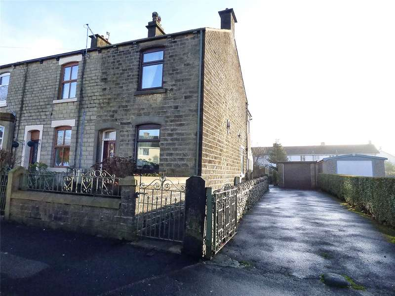 2 Bedrooms End Of Terrace House for sale in Green Lane, Hadfield, Glossop, SK13