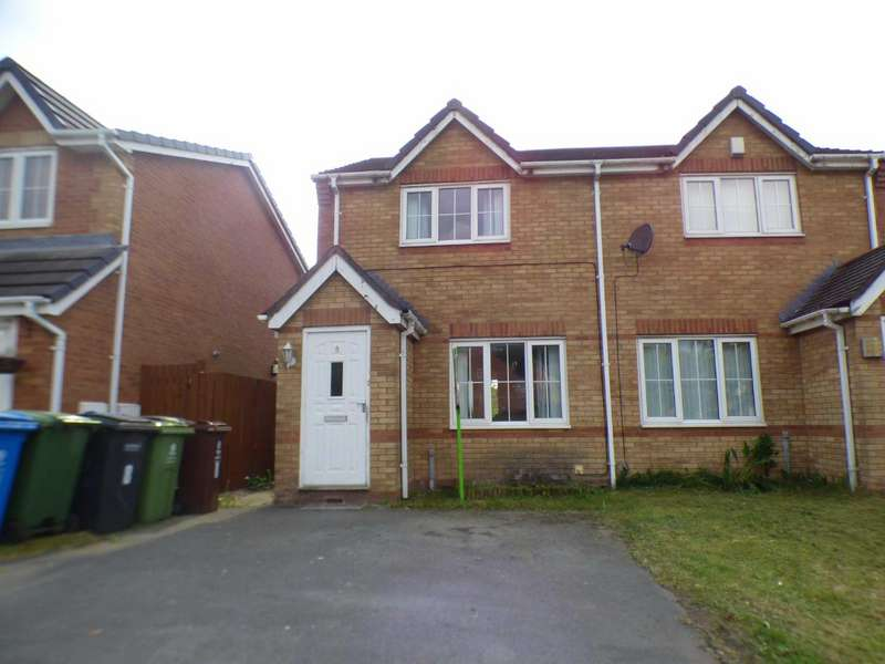 2 Bedrooms Semi Detached House for sale in Shadowbrook Close, Sandringham Park, Oldham, Greater Manchester, OL1