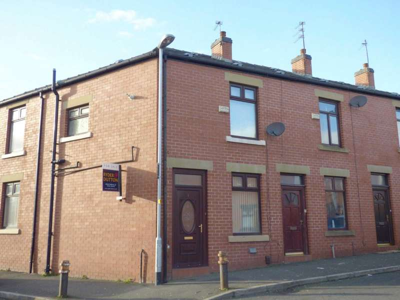 3 Bedrooms End Of Terrace House for sale in David Street, Rochdale, Greater Manchester, OL12