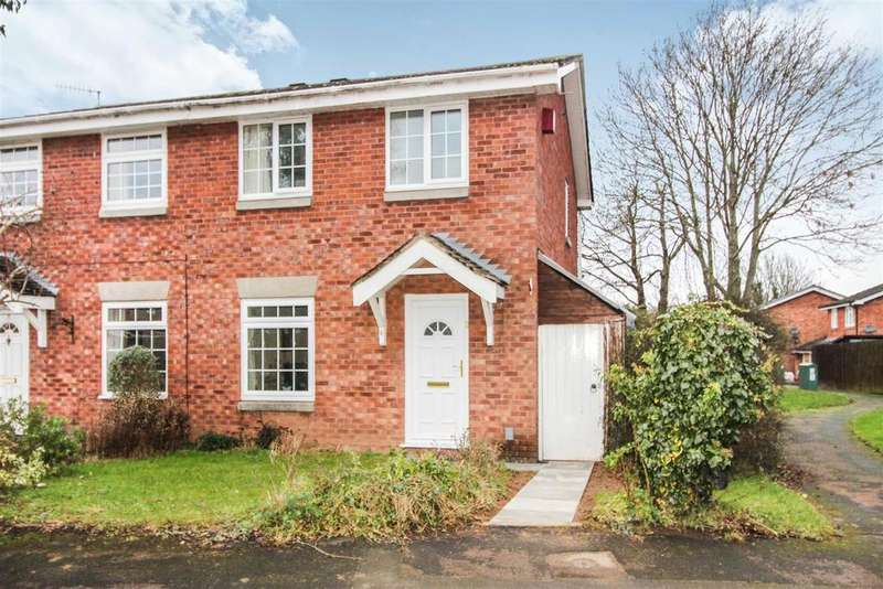 3 Bedrooms Semi Detached House for sale in Drayton Court, Warwick