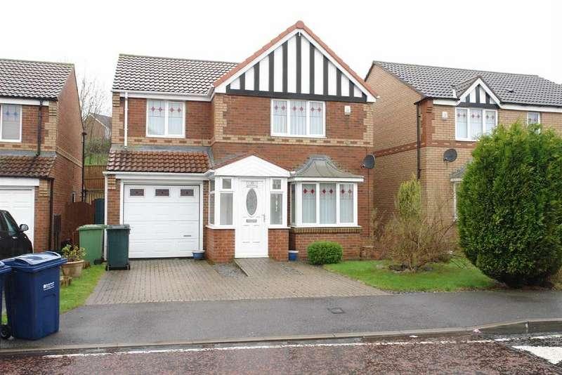 4 Bedrooms Detached House for rent in Tamarisk Way, Gateshead