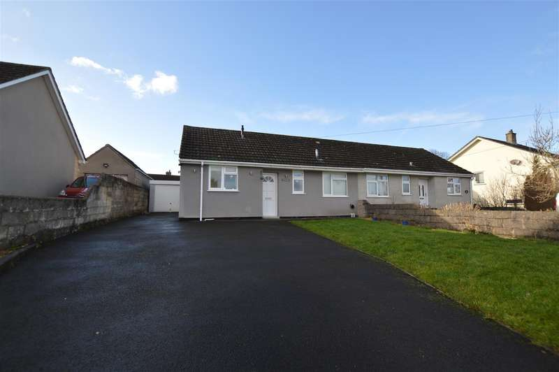 3 Bedrooms Semi Detached Bungalow for sale in Brittens Hill, Paulton