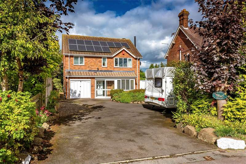 4 Bedrooms Detached House for sale in Brentfield House, Wellington Road, Muxton, Telford, Shropshire, TF2