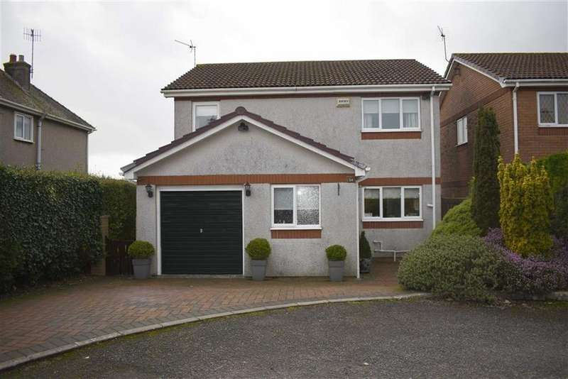 4 Bedrooms Detached House for sale in Tudor Court, Murton, Swansea