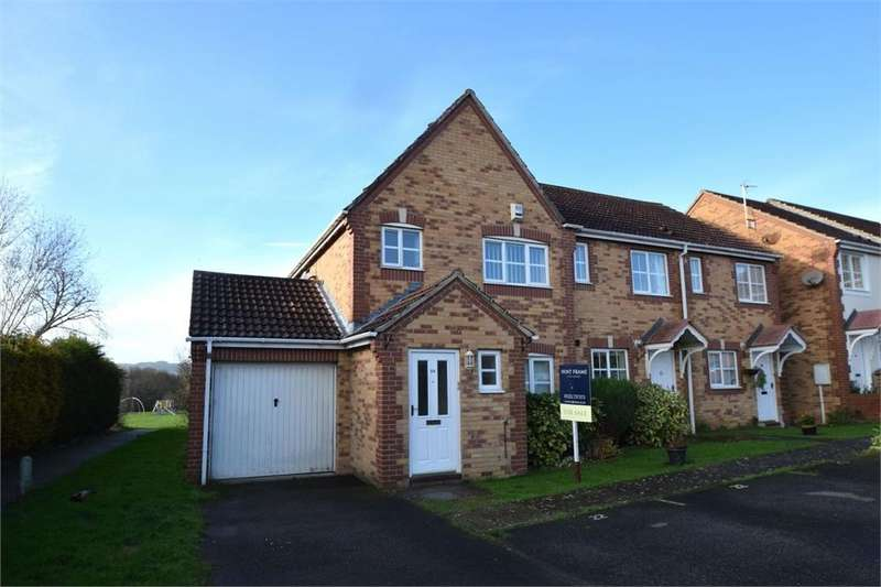 3 Bedrooms Semi Detached House for sale in Medina Drive, Stone Cross, Pevensey, East Sussex