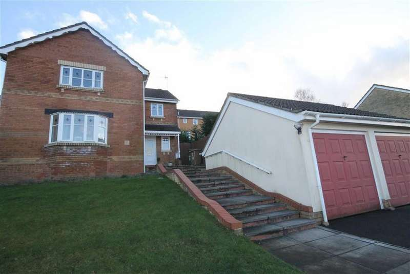 4 Bedrooms Detached House for sale in Heol Ysgubor, Caerphilly