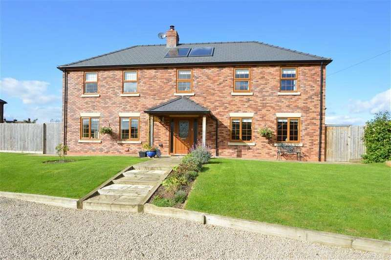 5 Bedrooms Detached House for sale in Mill View, Wattlesborough, Halfway House, SY5