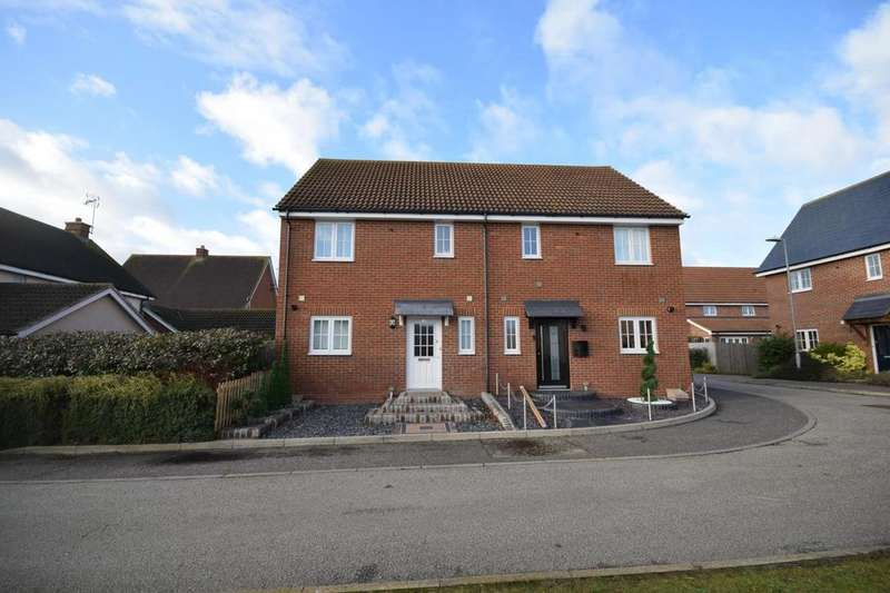 3 Bedrooms Semi Detached House for sale in Clarendon Road, Little Canfield, Dunmow, Essex, CM6