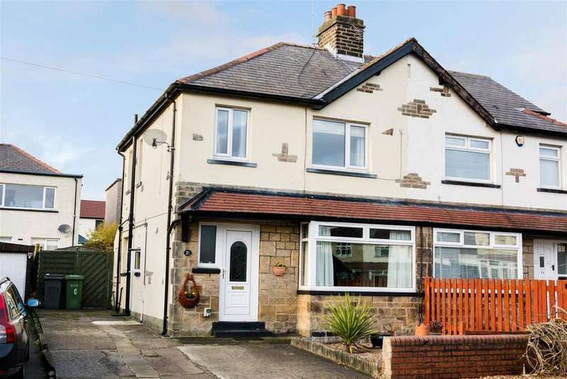 3 Bedrooms Semi Detached House for sale in Barfield Avenue, Yeadon, Leeds