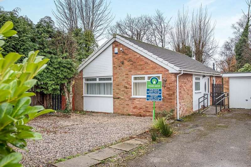 2 Bedrooms Detached Bungalow for sale in Ambergate, Skelmersdale, WN8