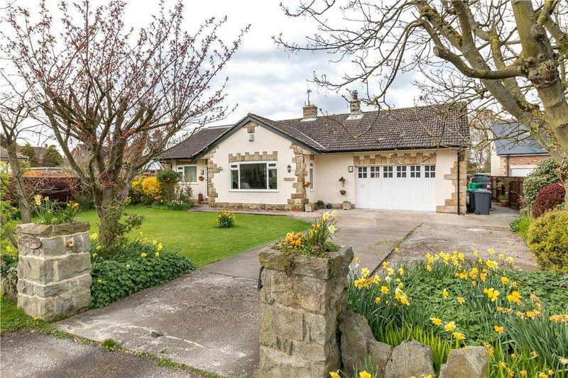 5 Bedrooms Detached Bungalow for sale in Stokesley Road, Hutton Rudby, Yarm, North Yorkshire