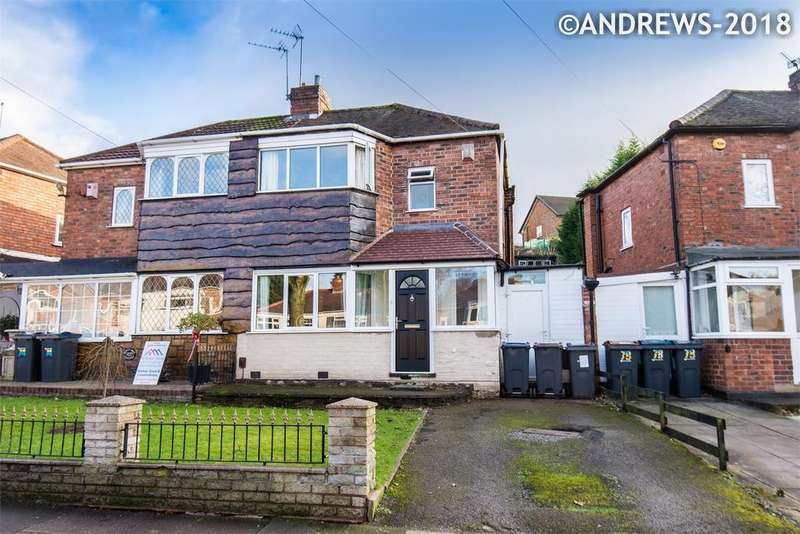 2 Bedrooms Semi Detached House for sale in Courtenay Road, Great Barr, BIRMINGHAM