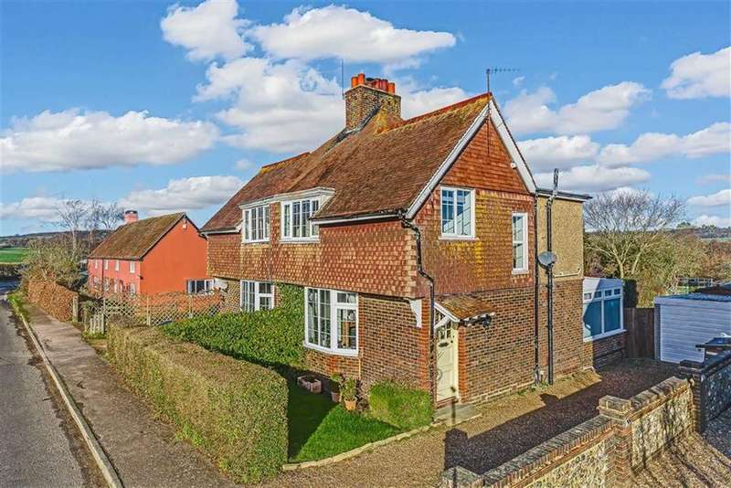 3 Bedrooms Semi Detached House for sale in Chathill Cottages, Tandridge, Surrey