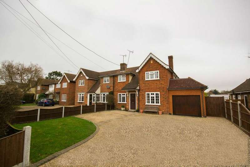 4 Bedrooms Semi Detached House for sale in Hanging Hill Lane, Hutton, Brentwood, Essex, CM13