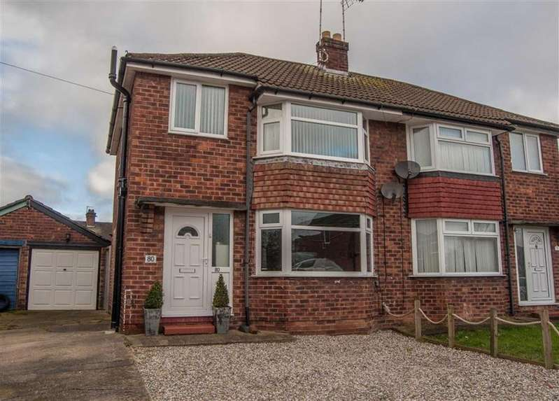 3 Bedrooms Semi Detached House for sale in Oldfield Crescent, Chester, Chester