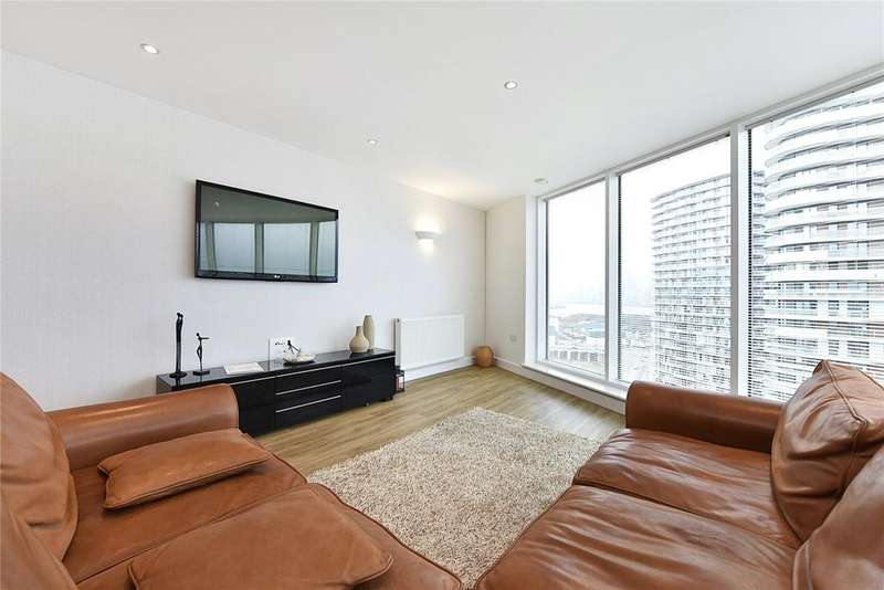 2 Bedrooms Flat for sale in Alaska Apartments, 22 Western Gateway, London
