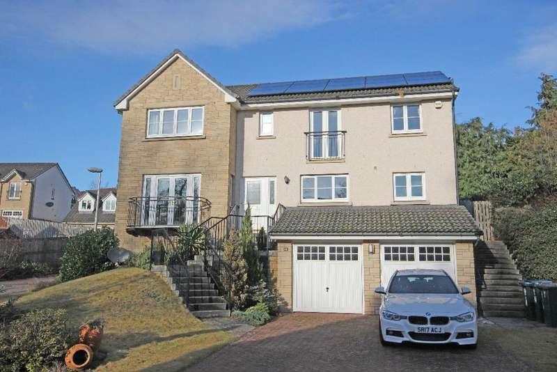 5 Bedrooms Detached House for sale in Cleeve Park, Perth, Perthshire , PH1 1GY