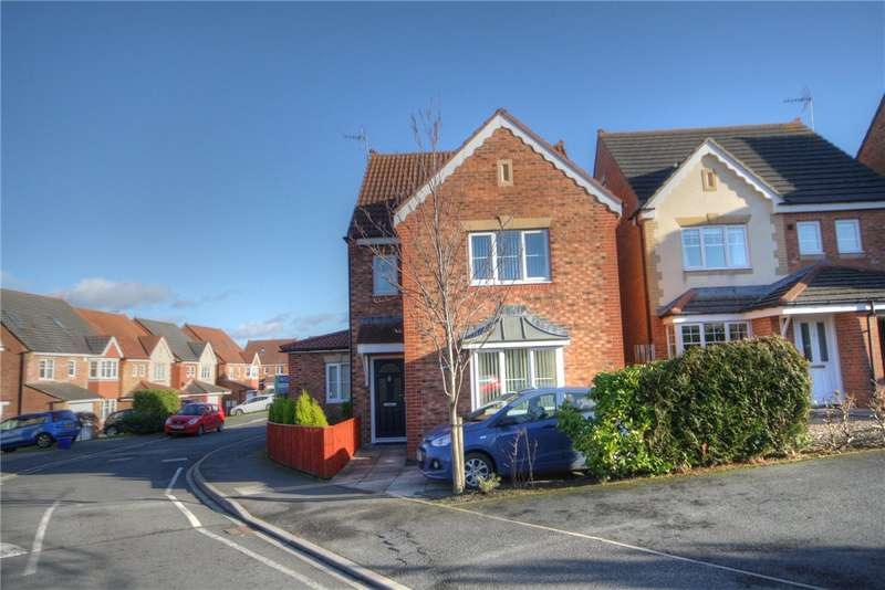 4 Bedrooms Detached House for sale in Prescott Way, Bishop Auckland, County Durham, DL14