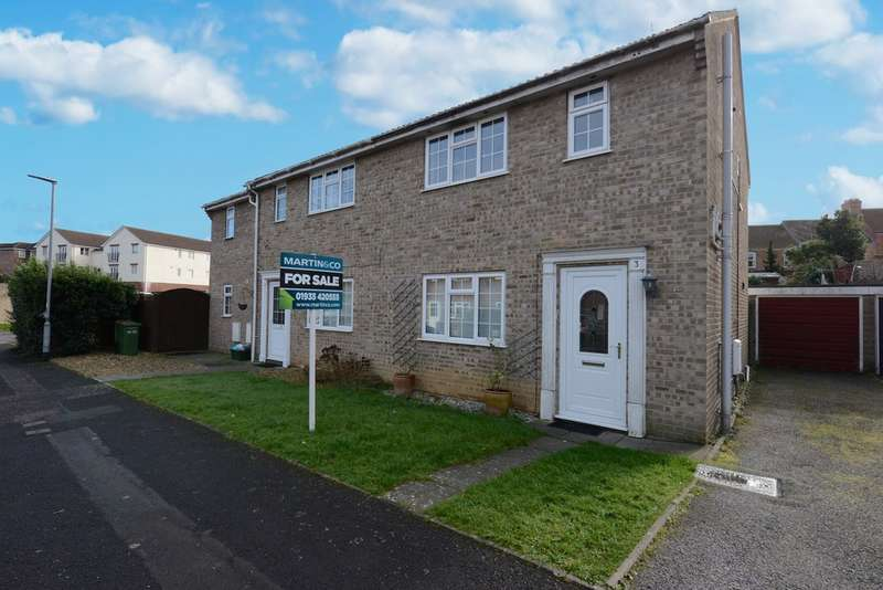 3 Bedrooms Semi Detached House for sale in Portreeve Drive, Yeovil BA21
