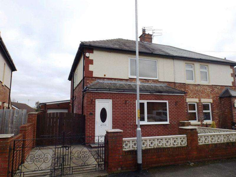 3 Bedrooms Semi Detached House for sale in Second Avenue, Morpeth