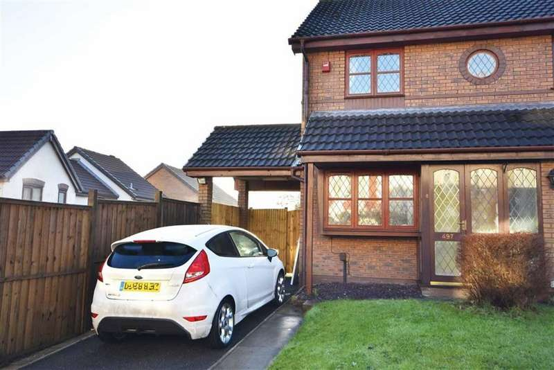 2 Bedrooms Semi Detached House for sale in Carmarthen Road, Swansea