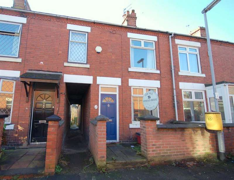 2 Bedrooms Terraced House for sale in Mellard Street, Audley