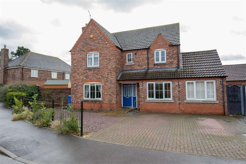 5 Bedrooms Detached House for sale in Saxon Gardens, Fishtoft, Boston, Lincolnshire