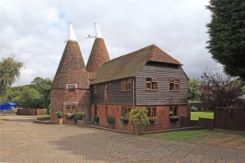 5 Bedrooms Barn Conversion Character Property for sale in Hastings Road, Matfield, Tonbridge, Kent