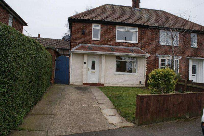2 Bedrooms Semi Detached House for rent in Keats Road, Normanby, Middlesbrough TS6 0RP