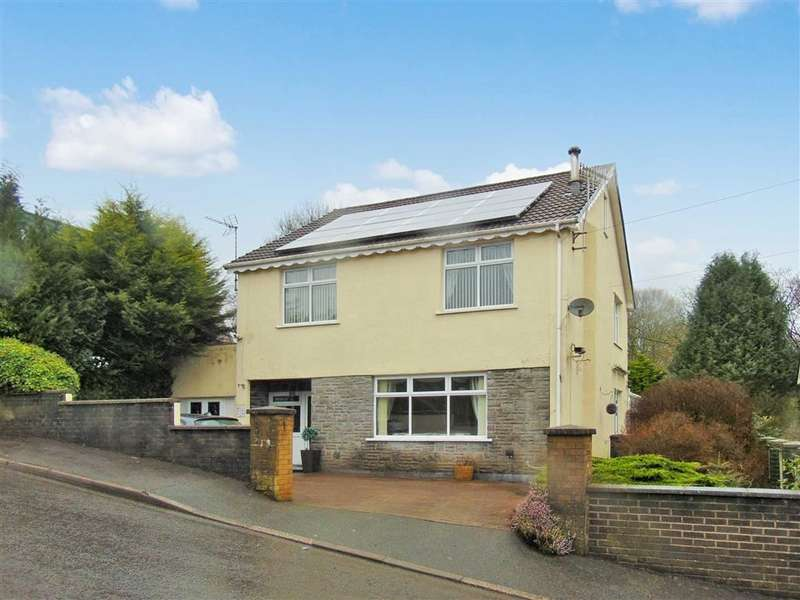 5 Bedrooms Detached House for sale in Rock Terrace, Pontypridd
