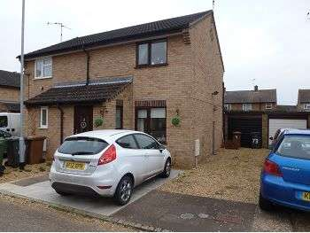2 Bedrooms Semi Detached House for sale in Swale Avenue, Peterborough, PE4 7GT