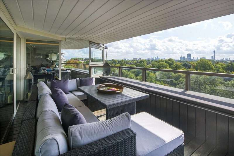 3 Bedrooms Flat for sale in Park St James, St James's Terrace, St John's Wood, NW8