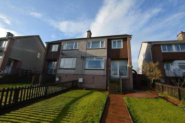 3 Bedrooms Semi-detached Villa House for sale in 11 Glenview, West Kilbride, KA23 9JG