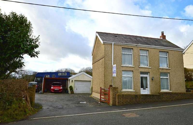 3 Bedrooms Detached House for sale in Penygroes, Llanelli