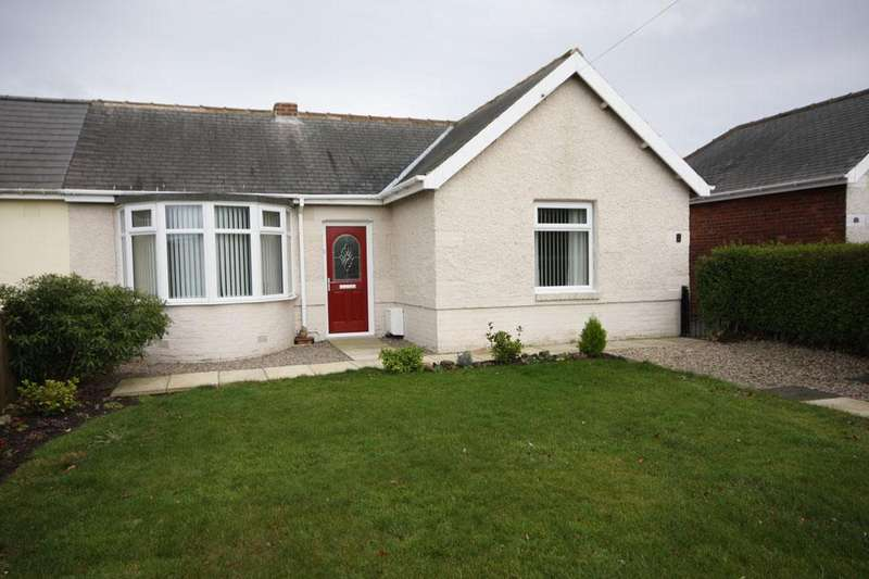 2 Bedrooms Semi Detached Bungalow for sale in Hillcrest, Burnhope, Durham DH7 0BQ