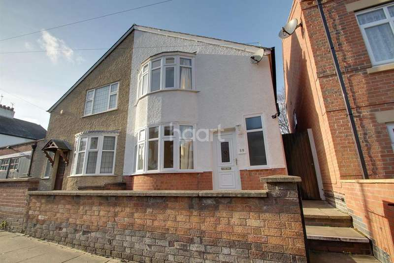 2 Bedrooms Semi Detached House for sale in Ivanhoe Street, Leicester