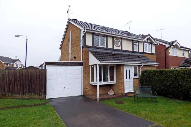 2 Bedrooms Semi Detached House for sale in Hanbury Avenue, Hatton