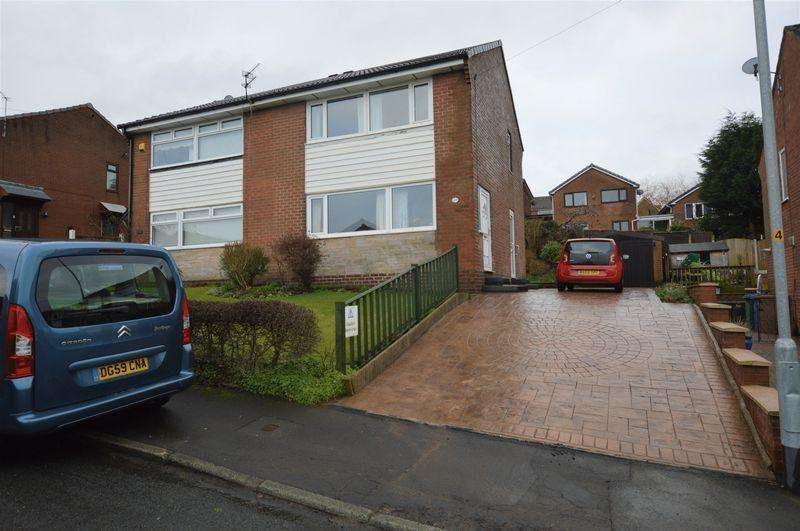 3 Bedrooms Semi Detached House for sale in Abbey Drive, Littleborough