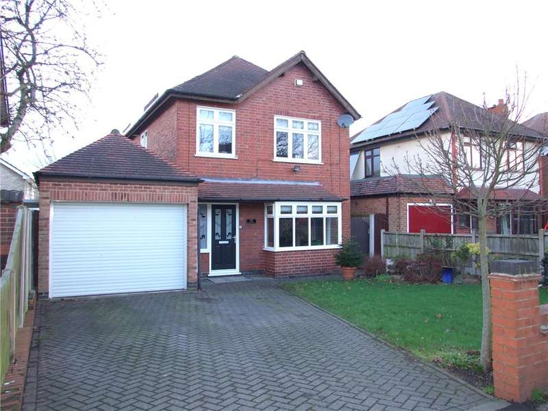 3 Bedrooms Detached House for sale in Locko Road, Spondon, Derby, Derbyshire, DE21