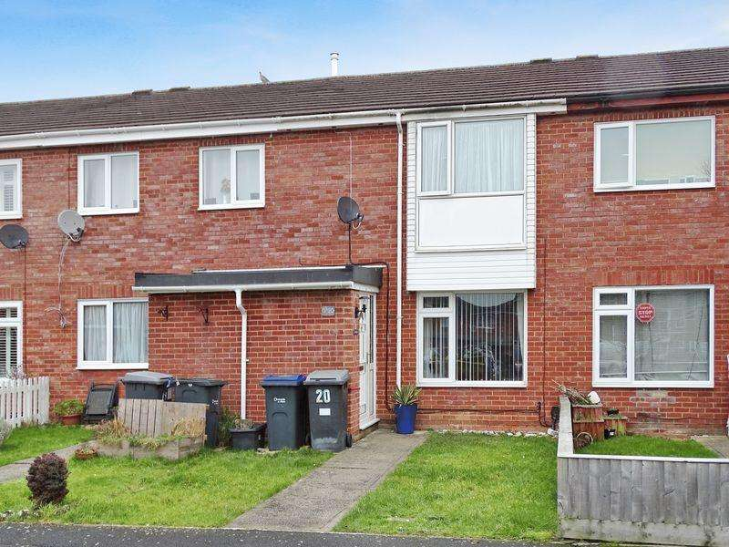3 Bedrooms Terraced House for sale in Chiltern Close, Melksham