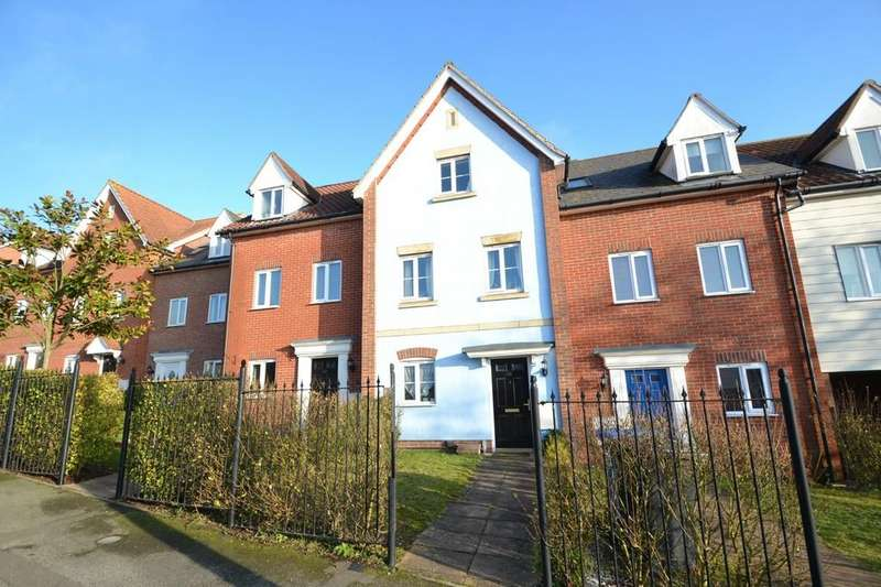 4 Bedrooms Town House for sale in Coral Drive, Ipswich