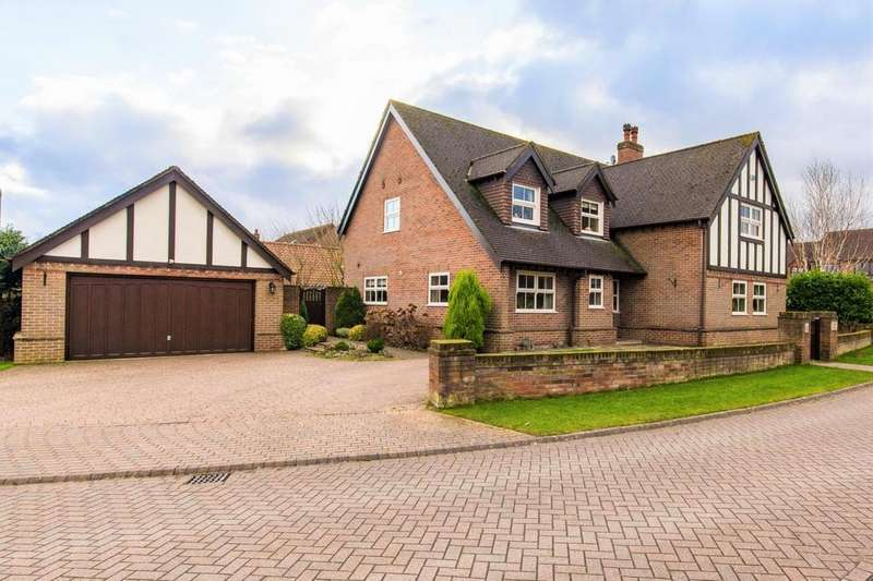 4 Bedrooms Detached House for sale in Old Vicarage Park, Scawby, Brigg, North Lincolnshire, DN20