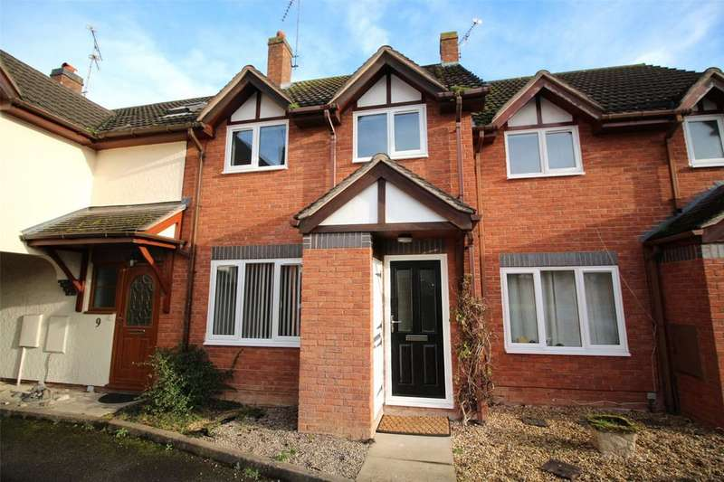 2 Bedrooms Terraced House for sale in The Paddock, Cross Lanes, Wrxham, LL13