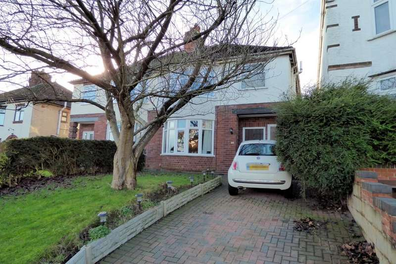 4 Bedrooms Semi Detached House for sale in Foston Avenue, Burton-on-Trent